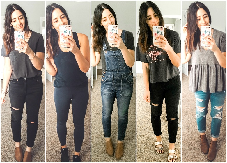 Weekly Looks Vol. 8 + the tee shirt I had to let go after wearing it this week!