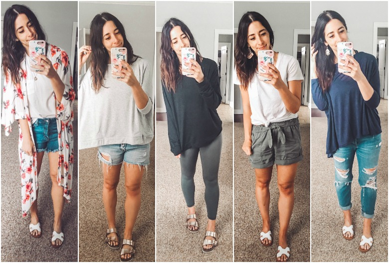 Weekly Looks Vol. 11 + the best mom friendly shorts for Spring/Summer