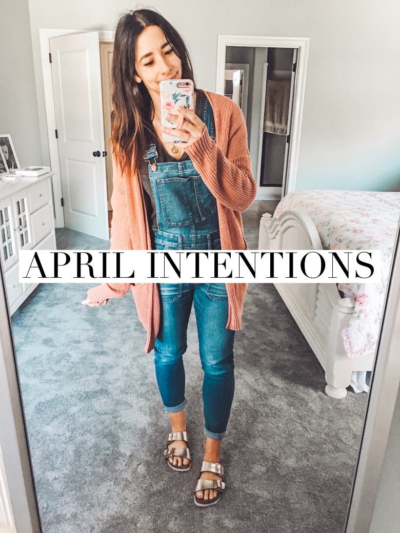 April Intentions + the one thing that really fires me up right now!
