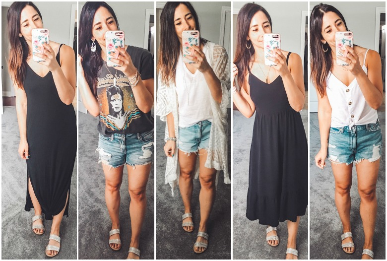 Weekly Looks Vol. 21 + Capsule Wardrobe basics on sale this weekend that I own and love