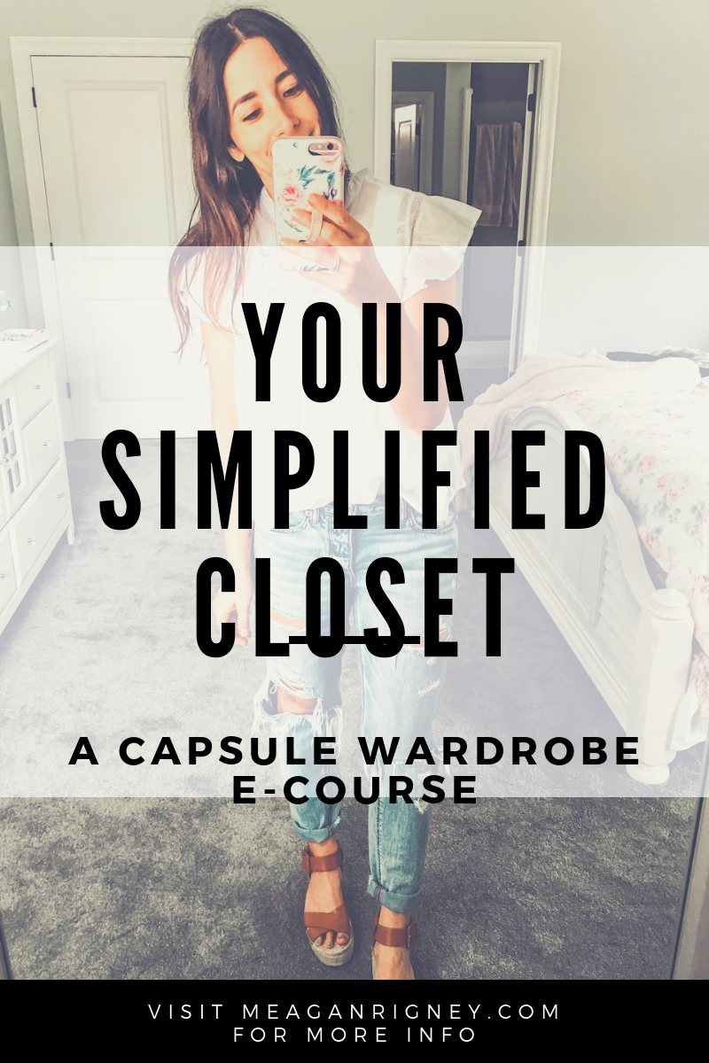 My Capsule Wardrobe Course is HERE!