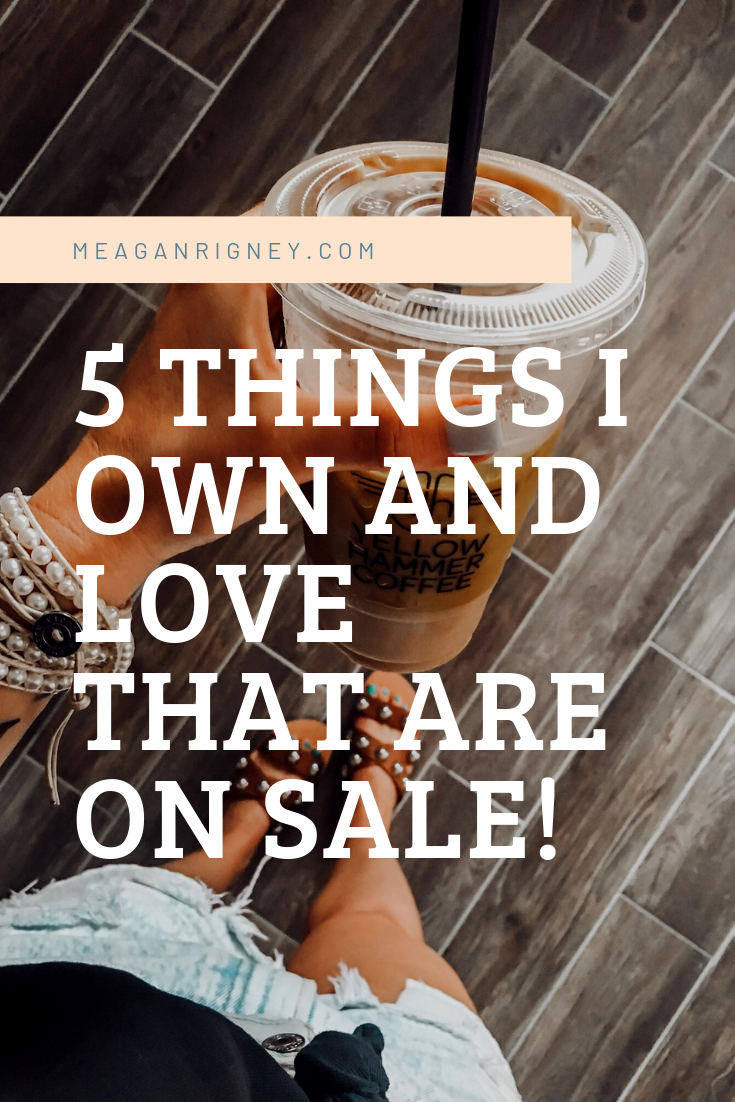 5 things that I own (and love!) that are on sale