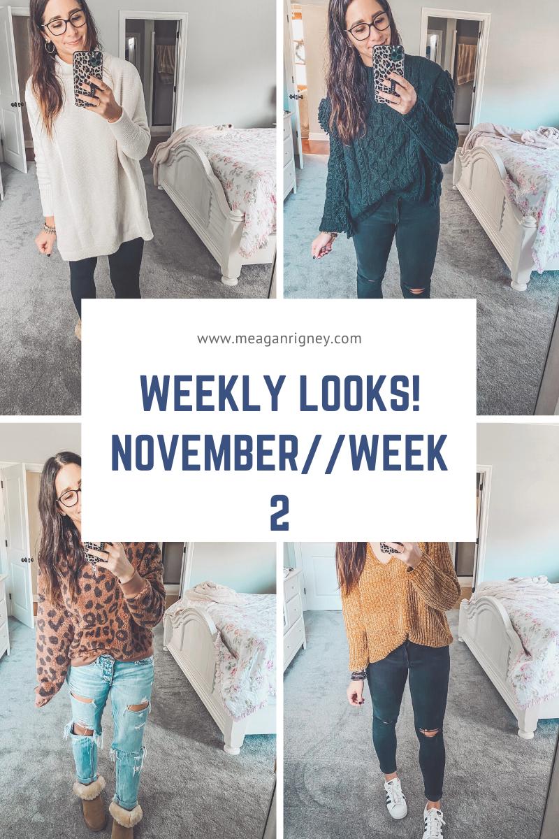 Weekly Outfits//November Week 2