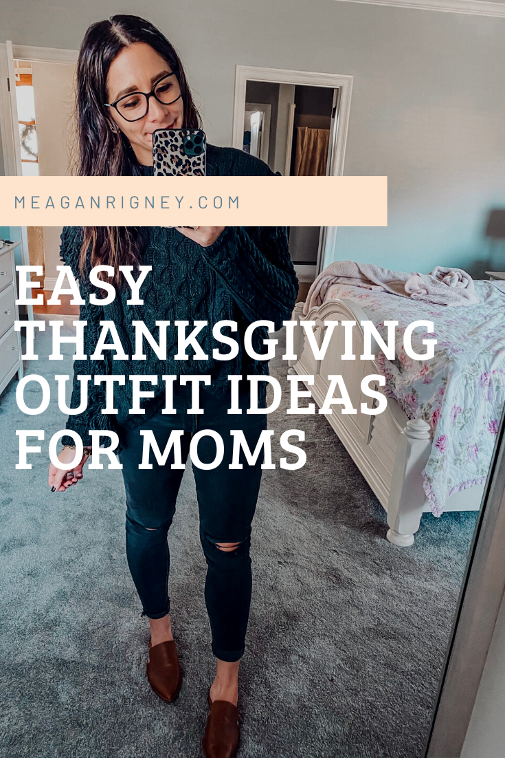 12 Easy Thanksgiving Outfit Ideas (from cozy to heels!)