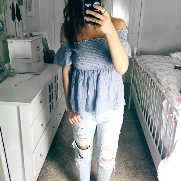 The simple top I'm loving right now