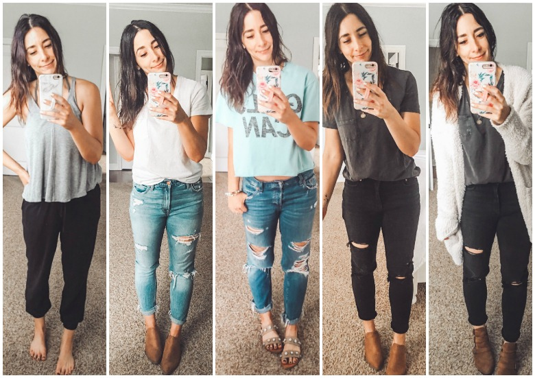 Weekly Looks Vol. 5 + my favorite dainty layering necklaces