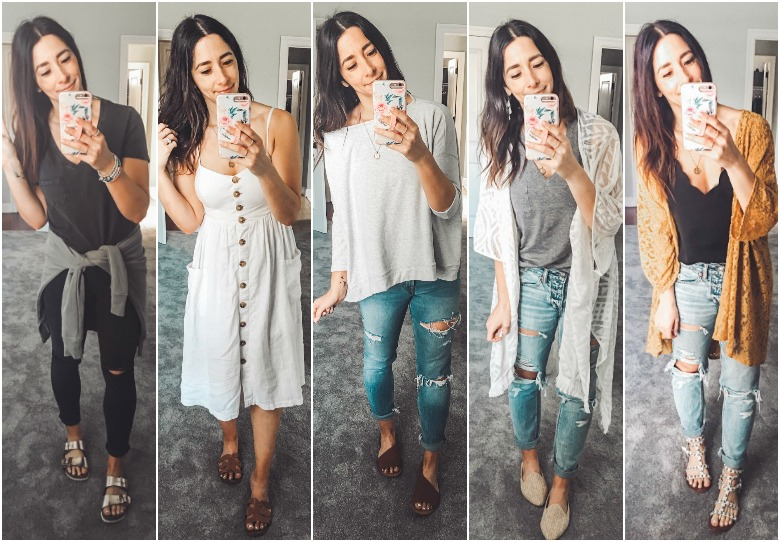 Weekly Looks Vol. 13 + the BEST new jeans I snagged last week!