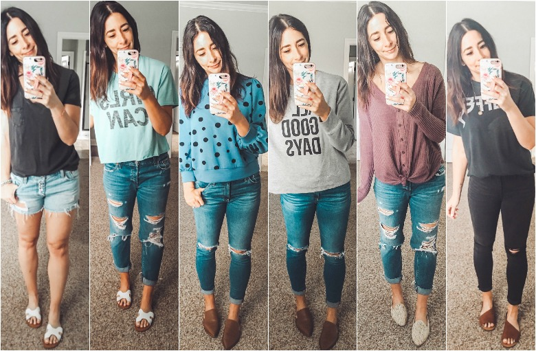 Weekly Looks Vol. 10 (6 easy Spring outfit ideas!)