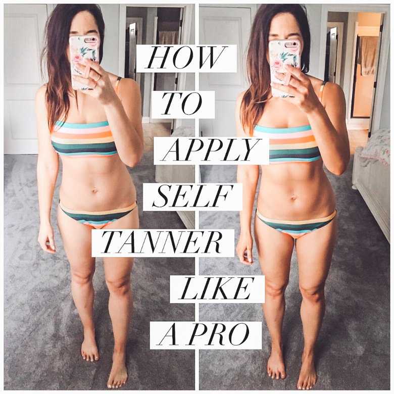 How to apply self tanner like a pro