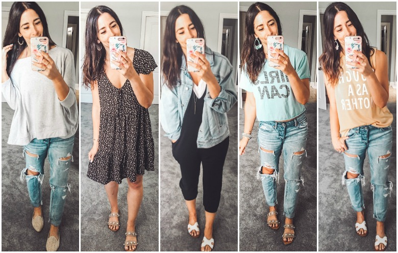 Weekly Looks Vol. 17 + the cutest graphic tanks for Summer!
