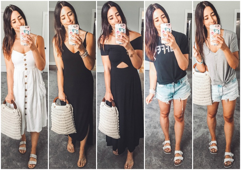 Weekly Looks Vol. 23 + the BEST under $10 sandals you need this summer