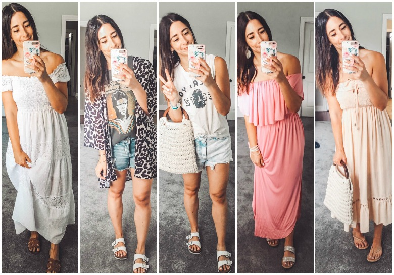 What I Wore Last Week + 3 under $25 Amazon dresses to keep you cool this summer