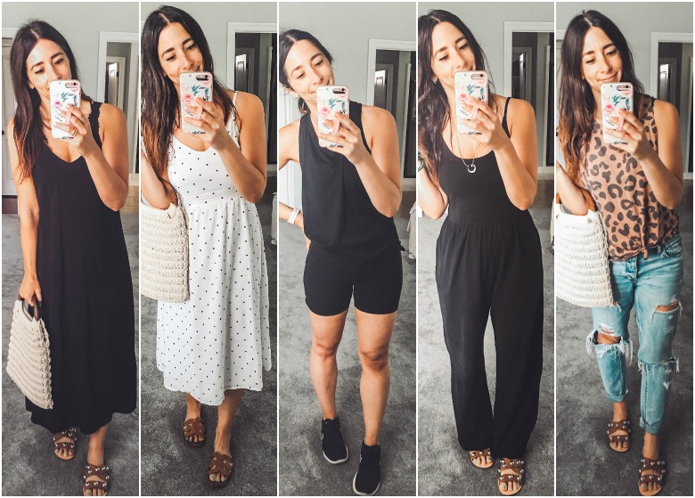 What I Wore Last Week + my new fave workout outfit!
