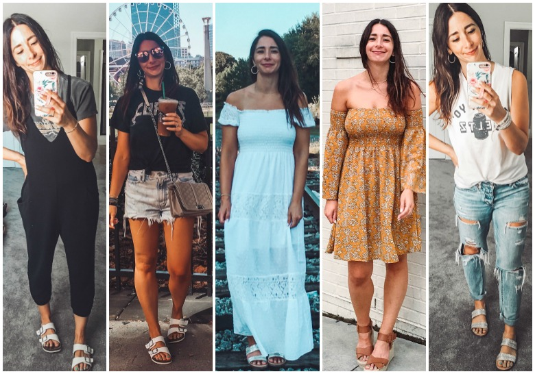 August Capsule Wardrobe outfits, Week 3…(Atlanta Travel Diary looks)