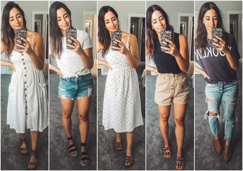 Weekly Outfits +the (under $20) shirts I can't stop wearing…