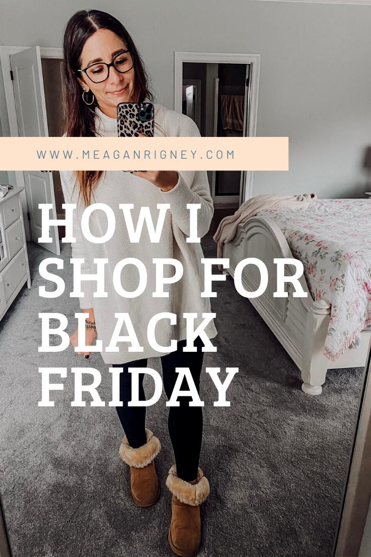 How I shop for Black Friday