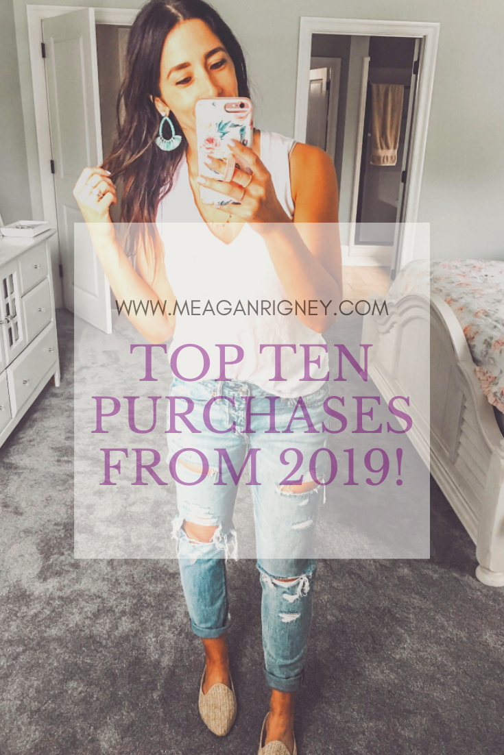 Your top ten purchases from 2019!